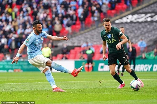 Sút 21 ăn 1, Man City vẫn giành danh hiệu đầu tiên ảnh 1