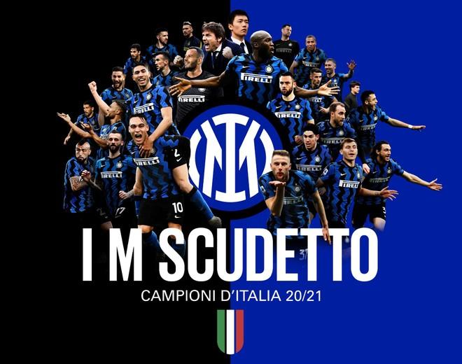 Inter Milan vô địch Serie A sau 11 năm chờ đợi ảnh 1
