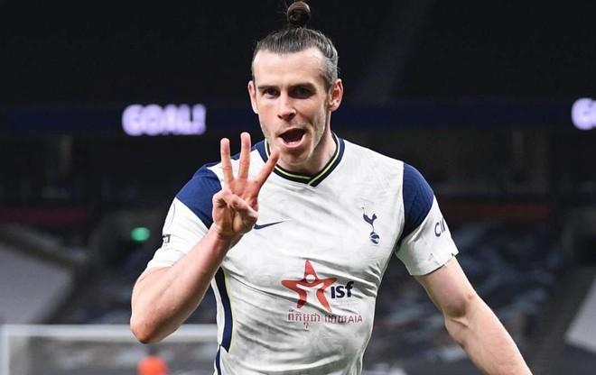 Bale lập hattrick vào lưới đội đã xuống hạng ảnh 1