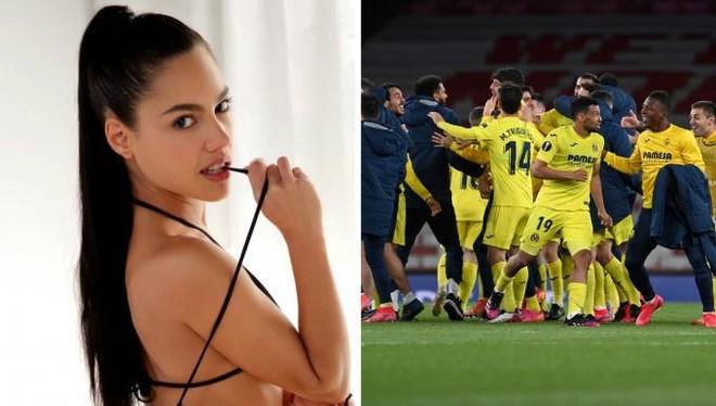 Villarreal mời diễn viên phim 18+ đến xem chung kết với M.U ảnh 1