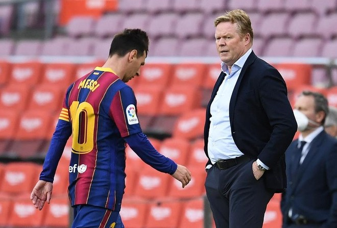 Hủy hoại Barca, HLV Ronald Koeman sắp bị sa thải ảnh 1