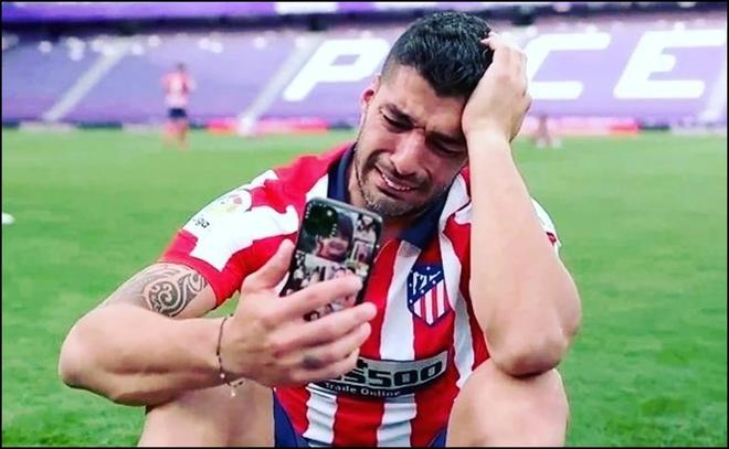 Luis Suarez trách Barca sau khi vô địch cùng Atletico ảnh 1