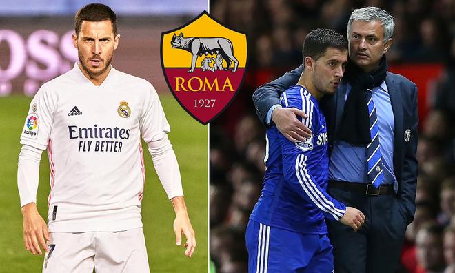 HLV Mourinho gây sốc, lôi kéo Hazard sang AS Roma ảnh 1