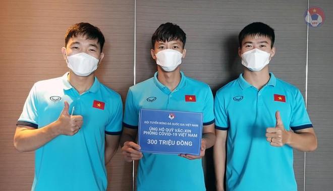 ĐT Việt Nam ủng hộ 300 triệu đồng vào Quỹ vaccine phòng, chống Covid-19 ảnh 1