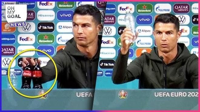 Chỉ một hành động nhỏ, Ronaldo khiến Coca-Cola thiệt hại 4 tỷ USD ảnh 1