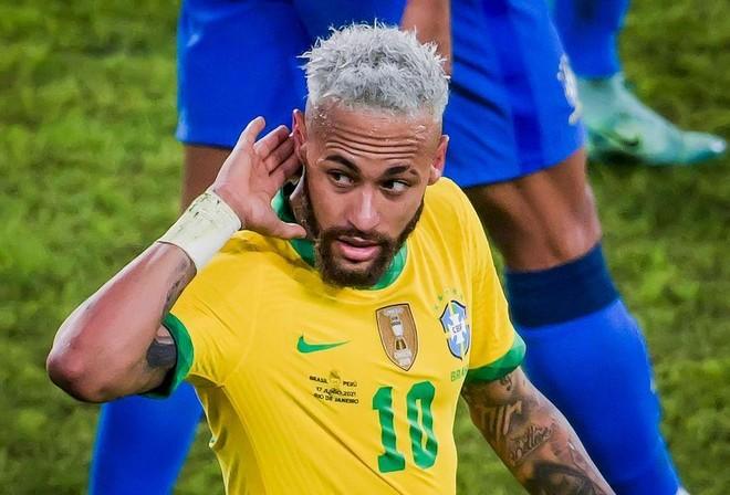 Neymar 'nhảy múa', Brazil đè bẹp Peru ảnh 1