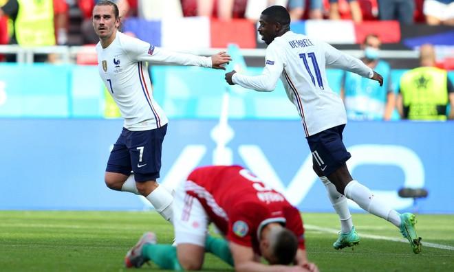 Chơi như mất hồn, Pháp may mắn thoát thua Hungary ảnh 3