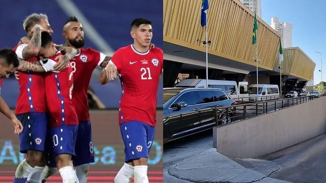 Vidal và nhiều cầu thủ Chile bị phát hiện đưa gái về khách sạn ảnh 1
