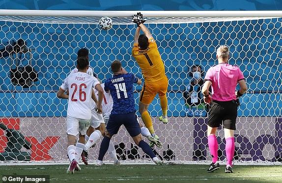 Thủ môn Slovakia phản lưới nhà theo cách khó tin ảnh 1