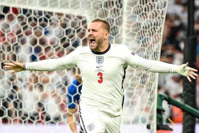 Ghi bàn phút thứ 2, Luke Shaw đi vào lịch sử EURO ảnh 1