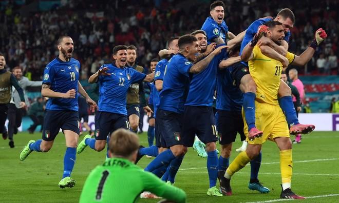 Thua luân lưu 11m, tuyển Anh dâng cúp vô địch cho người Ý ảnh 5