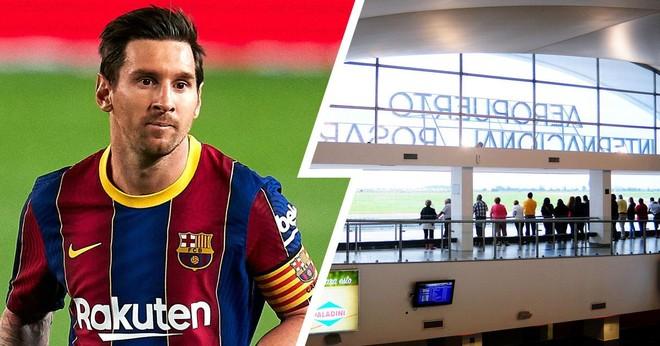 Chuyên cơ của Messi gặp sự cố vì một vụ đặt bom ảnh 1