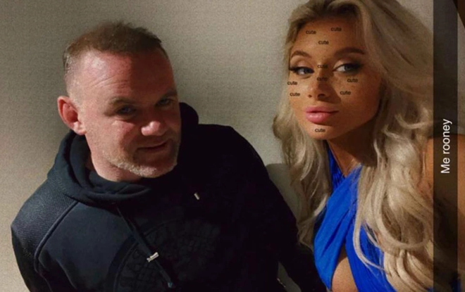 Lộ ảnh 'nóng', Rooney gặp rắc rối to ảnh 2