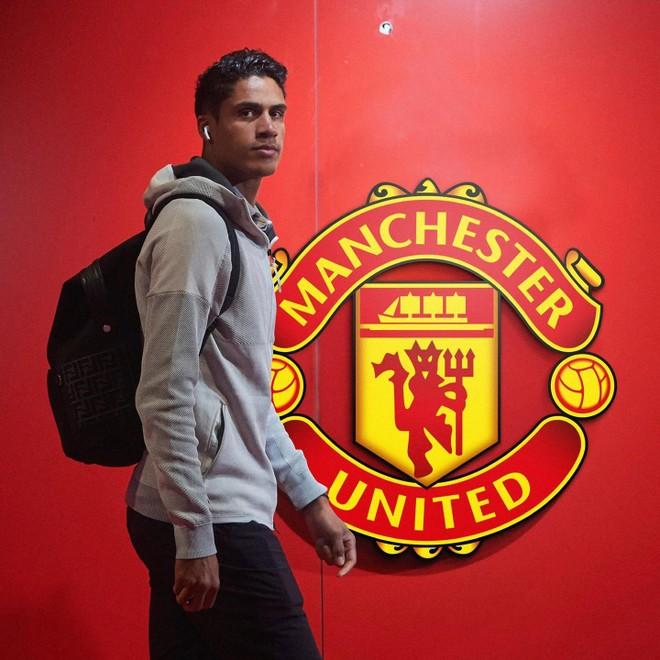 Raphael Varane ký hợp đồng 4 năm với M.U ảnh 1