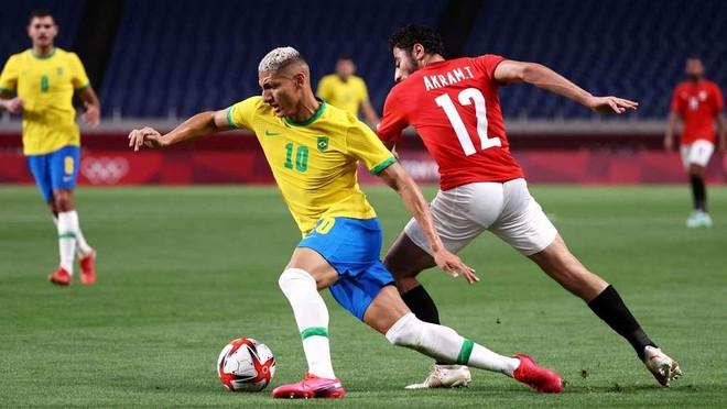 Brazil lần thứ 4 liên tiếp vào bán kết Olympic ảnh 1