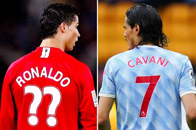 M.U tìm ra cách để Ronaldo lấy áo số 7 huyền thoại ảnh 1
