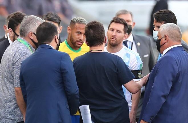 Messi phẫn nộ vì cách hành xử nghiệp dư của Brazil ảnh 2