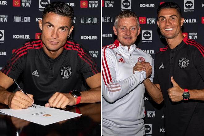 """Ronaldo: """"Tôi trở lại M.U không phải để dạo chơi"""" ảnh 1"""