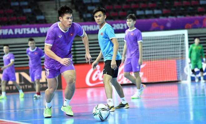 Tuyển futsal Việt Nam hoàn tất bước quan trọng trước khi đấu Brazil ảnh 2