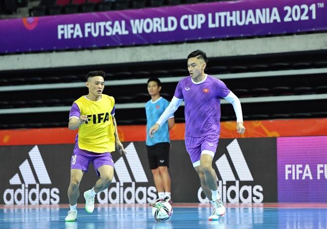 Tuyển futsal Việt Nam hoàn tất bước quan trọng trước khi đấu Brazil ảnh 1