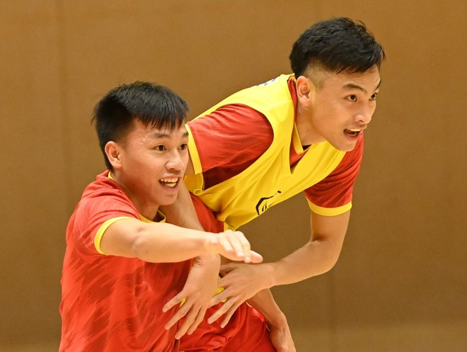 Tuyển futsal Việt Nam gỡ nút thắt tâm lý, tự tin đấu Brazil ảnh 2