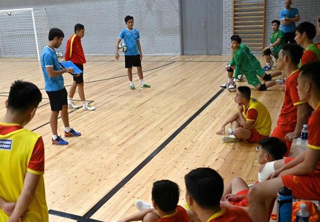 Gặp á quân thế giới Nga, ĐT futsal Việt Nam được nâng cấp đại bản doanh ảnh 3