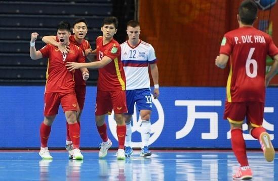 Chơi kiên cường và thua Nga sát nút, futsal Việt Nam ngẩng cao đầu rời World Cup ảnh 4