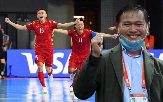 Ông 'bầu' Trần Anh Tú: Cầu thủ futsal Việt Nam có thể ra nước ngoài thi đấu ảnh 1