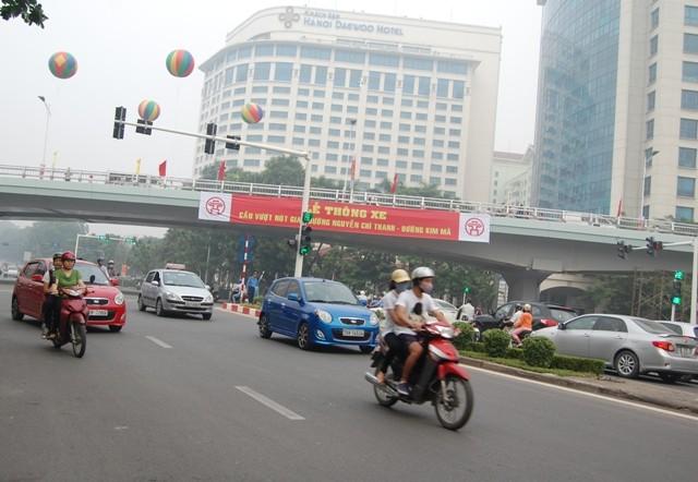 Thông xe cầu vượt đường Nguyễn Chí Thanh- Kim Mã ảnh 3