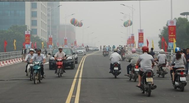 Thông xe cầu vượt đường Nguyễn Chí Thanh- Kim Mã ảnh 2