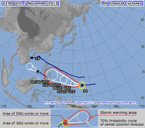 Năm 2013: Kỷ lục về số cơn bão hoạt động trên biển Đông ảnh 1