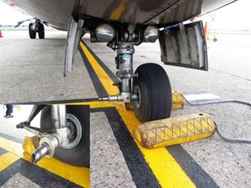 Kết luận ban đầu về chiếc máy bay rơi lốp của Vietnam Airlines ảnh 1