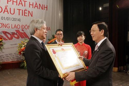 Báo Kinh tế & Đô thị đón nhận Huân chương Lao động hạng Ba ảnh 1