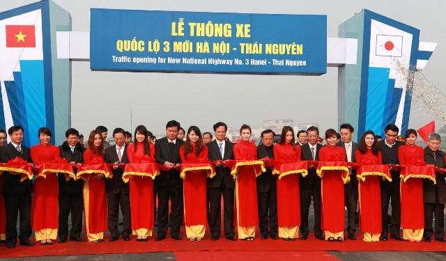 Thông xe kỹ thuật toàn tuyến QL3 mới Hà Nội - Thái Nguyên ảnh 1