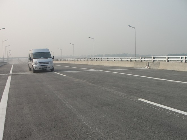 Thông xe kỹ thuật toàn tuyến QL3 mới Hà Nội - Thái Nguyên ảnh 2