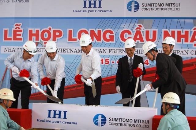 Hà Nội: Chính thức hợp long cầu Nhật Tân ảnh 2