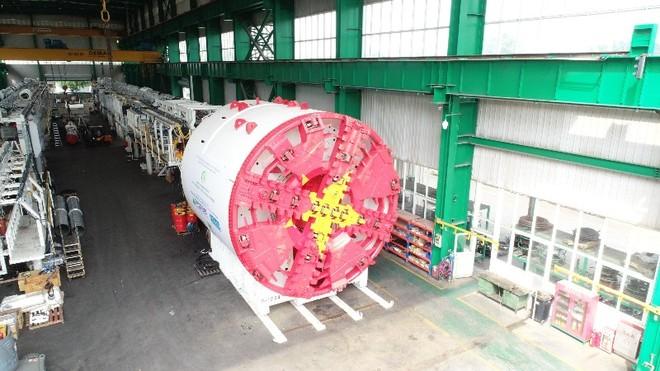 Robot đường sắt Nhổn-ga Hà Nội bắt đầu đào hầm từ quý I-2021 ảnh 1