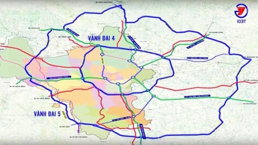 Điều chỉnh quy hoạch hơn 35km đường vành đai 5 Vùng Thủ đô, đoạn qua Hà Nam ảnh 1