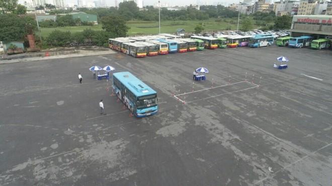 Cuộc tranh tài của tài xế xe buýt Thủ đô ảnh 1