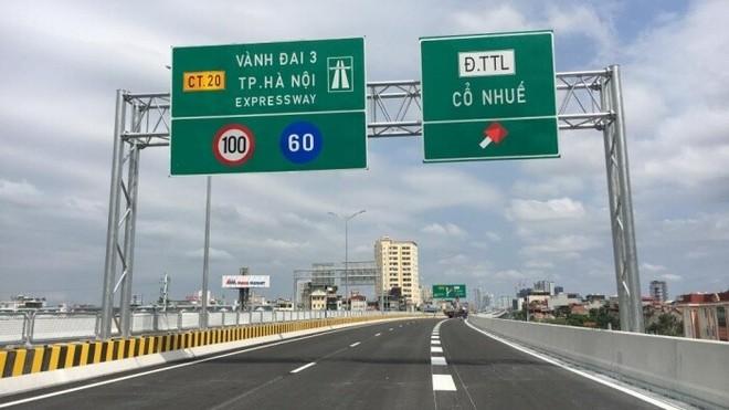 Vành đai 3 trên cao Mai Dịch- Nam Thăng Long vừa thông xe sẽ cấm phương tiện nào? ảnh 1