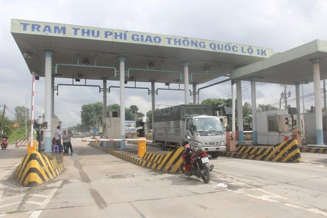 Dừng thu phí tất cả các trạm BOT trên quốc lộ 1K Đồng Nai- TP.HCM từ 31-10 ảnh 1