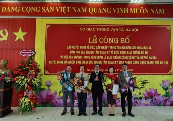 Hà Nội thành lập Trung tâm quản lý giao thông công cộng ảnh 1