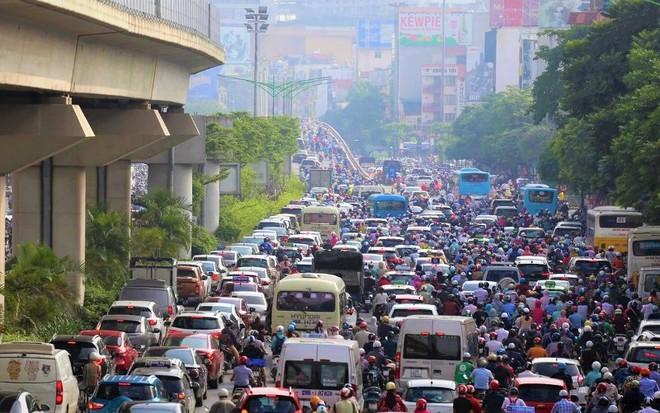 Hà Nội sẽ tiếp tục điều chỉnh giao thông tại nút giao Ngã Tư Sở để hạn chế ùn tắc ảnh 2