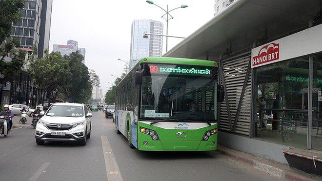 Lãnh đạo Sở GTVT Hà Nội báo cáo gì về tuyến buýt nhanh BRT 01? ảnh 1