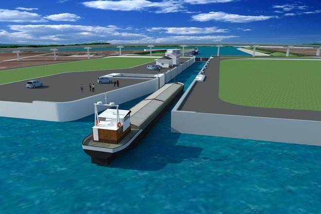 Gần 110 triệu USD xây kênh nối sông Đáy và Ninh Cơ với kênh Lạch Giang ra biển ảnh 1