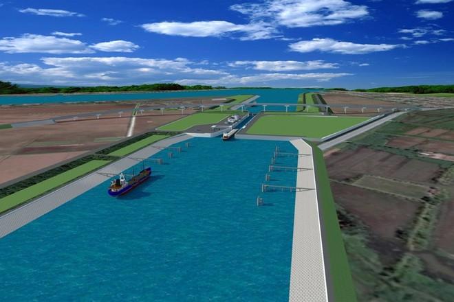 Gần 110 triệu USD xây kênh nối sông Đáy và Ninh Cơ với kênh Lạch Giang ra biển ảnh 2