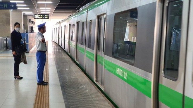 Tàu đường sắt đô thị Cát Linh- Hà Đông vận hành 287 lượt/ngày ảnh 5