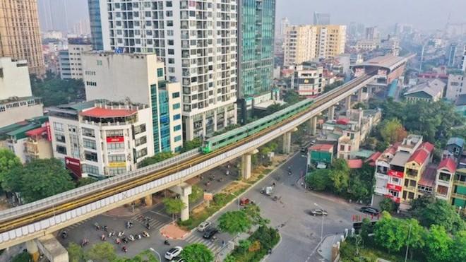 Đường sắt đô thị Cát Linh- Hà Đông đã sẵn sàng đón khách ảnh 1