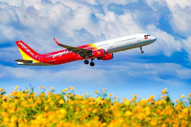 Vietjet khai thác trở lại bốn đường bay quốc tế ảnh 1