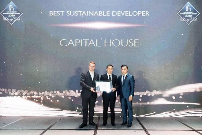 Capital House được vinh danh nhà đầu tư bất động sản phát triển bền vững nhất Đông Nam Á năm 2020 ảnh 1